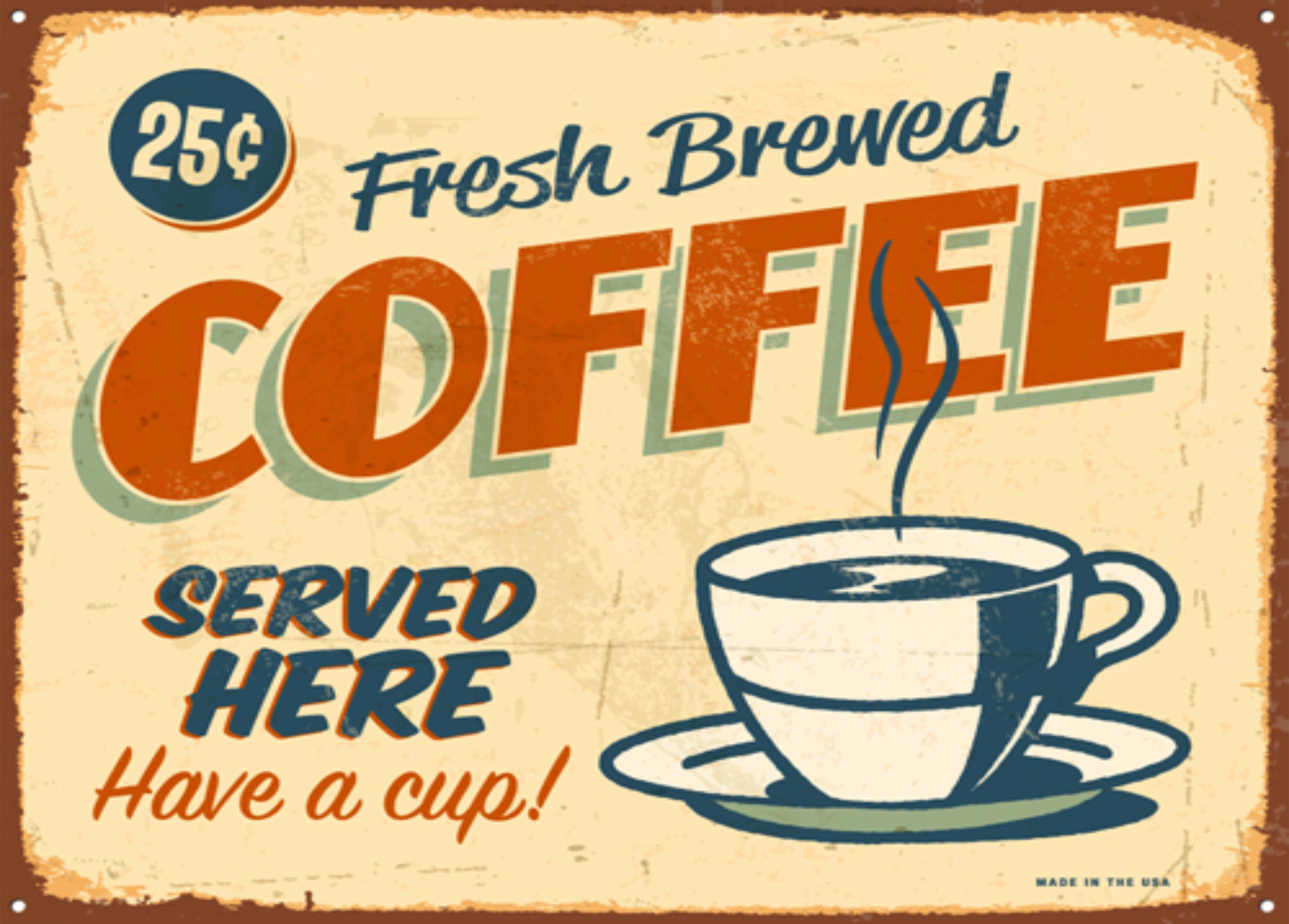 coffee shop spiel