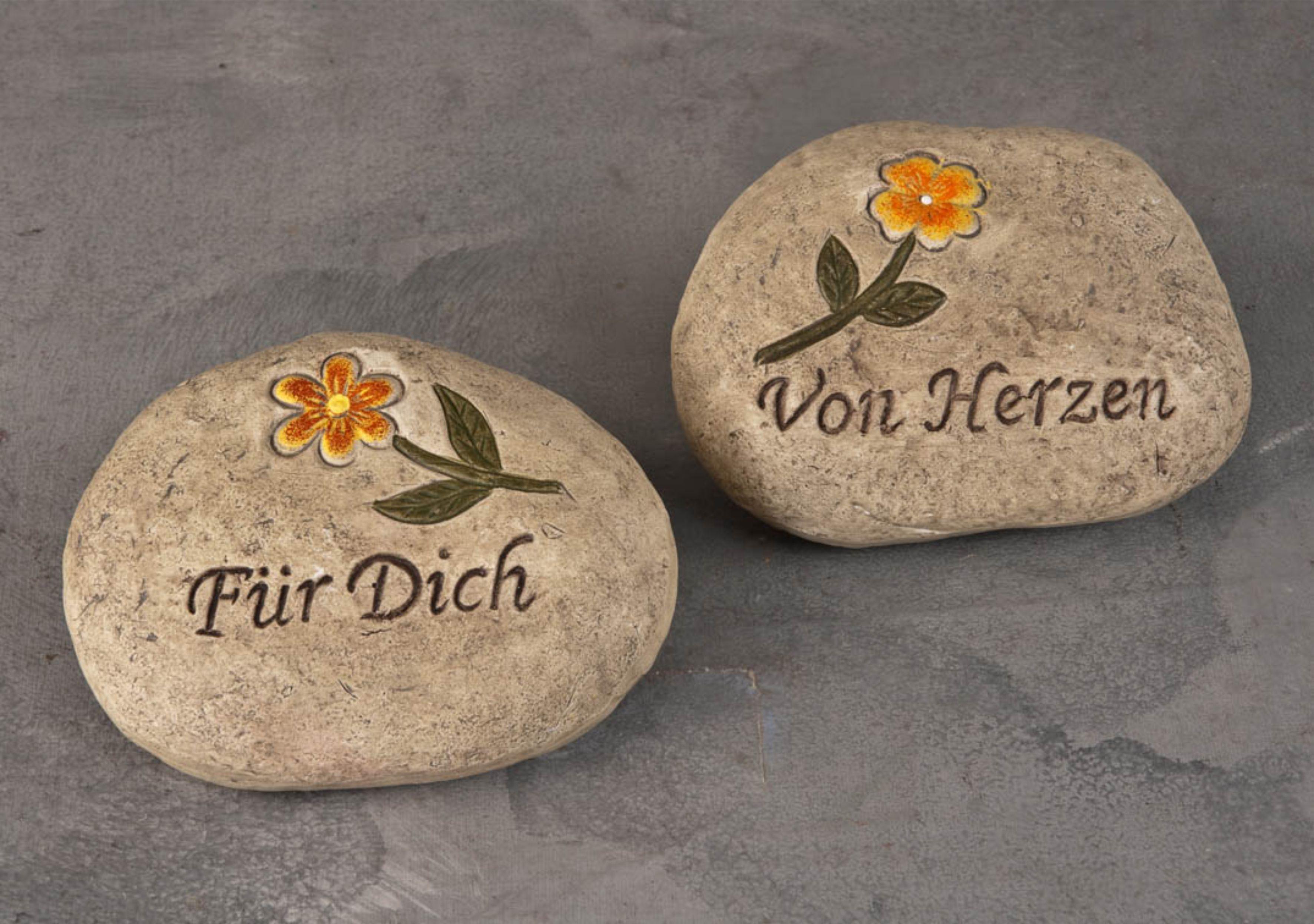 Davide24 gartendeko steine bemalt for Garten deko steine